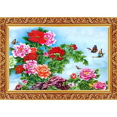 Tranh Treo Hoa Mẫu Đơn - MD010