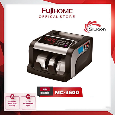 Máy Đếm Tiền Thế Hệ Mới Silicon MC-3600 - Hàng Chính Hãng