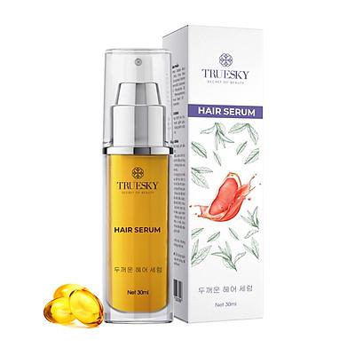 Serum dưỡng tóc Truesky giúp tóc mềm mượt, giảm gàu, bồng bền và chắc khoẻ 30ml - Hair Serum