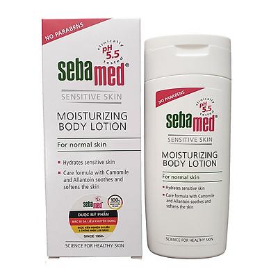 Sữa dưỡng thể cấp ẩm toàn thân cho da nhạy cảm Sebamed pH5.5 Moisturizing Body Lotion 200ml