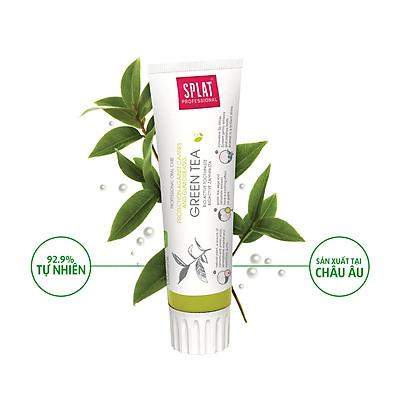 Kem đánh răng thảo mộc SPLAT trà xanh chăm sóc toàn diện cho răng và nướu 100ml