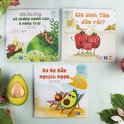 Bộ truyện tranh Chu Du Cùng Những Người Bạn Thú Vị - Sách tương tác cho bé 0-1-2-3-4-5-6 tuổi (Sách Đọc to giúp trẻ thông minh, phát triển não bộ)