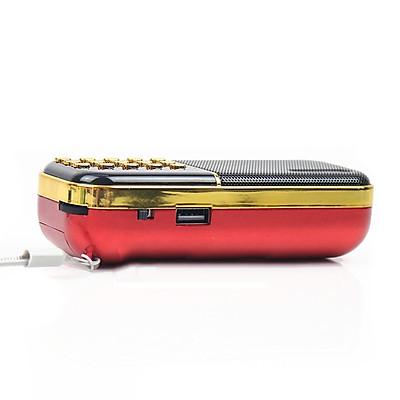 Radio mini nghe đài, nghe nhạc thẻ nhớ, USB, nghe kinh phật Craven-25A chính hãng