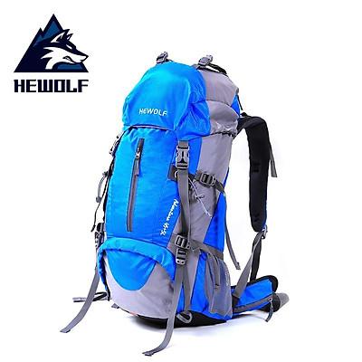 Balo dã ngoại , balo trekking cao cấp 50L HEWOLF - B1650