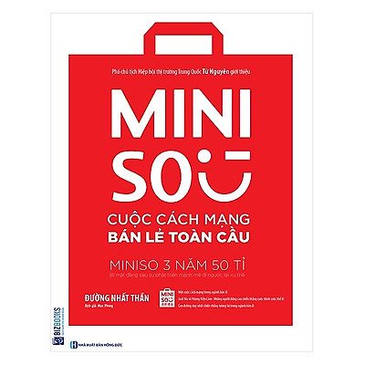 Miniso - Cuộc Cách Mạng Bán Lẻ Toàn Cầu(Tặng E-Book Bộ 10 Cuốn Sách Hay Về Kỹ Năng, Đời Sống, Kinh Tế Và Gia Đình - Tại App MCbooks)
