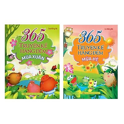 Combo 2 cuốn - 365 Truyện Kể Hằng Đêm  - Mùa Xuân - Mùa Hè