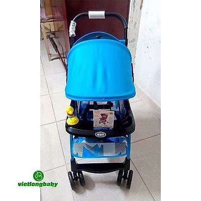 Xe Đẩy Trẻ Em Baobaohao 722C gọn nhẹ đa tư thế - xd722c (màu bé gái)
