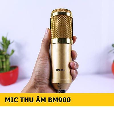 Micro Thu Âm Chuyên Nghiệp BM900 chống ồn, live stream, Hát Karaoke quay video, ghi âm, Vlog, Chơi game, trò chuyện qua Zoom Tương thích smartphone, máy tính bảng, máy tính để bàn, laptop, TN Bluetooth Siêu Bass Có Mic Đàm Thoại