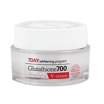 Kem Dưỡng Trắng Da, Giảm Thâm Nám Angel's Liquid 7 Day Glutathione 700 V-Cream 50ml