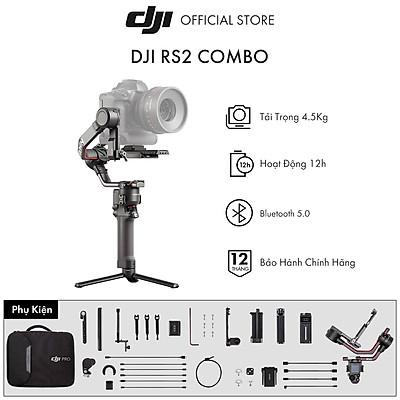 Tay Cầm Gimbal Chống Rung DJI Ronin RS 2 Combo - Hàng Chính Hãng - Bảo Hành 12 Tháng