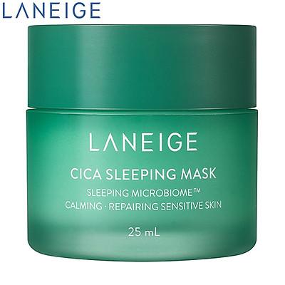 Mặt Nạ Ngủ Dưỡng Ẩm Giúp Phục Hồi Và Nuôi Dưỡng Da Phiên Bản Cải Tiến LANEIGE Cica Sleeping Mask EX
