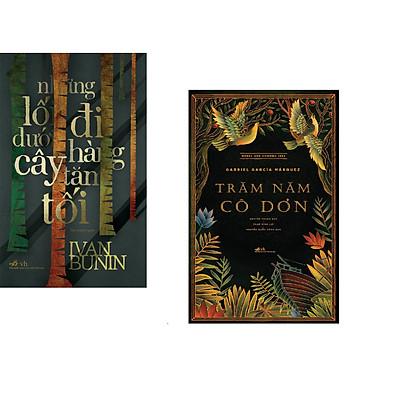 Combo 2 cuốn sách: Những lỗi đi dưới hàng cây tăm tối   + Trăm năm cô đơn