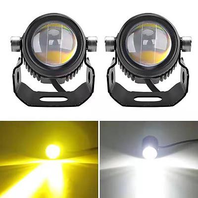 Đèn trợ sáng bi cầu mini 2 chế độ HJG ( 1 Cặp )