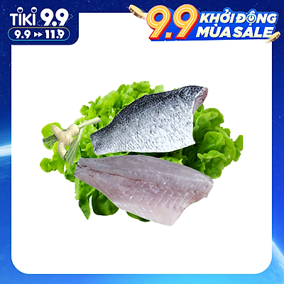Cá chẽm fillet - 500 gram