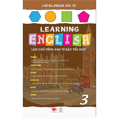 Sách : Learning English 3 - Tiếng Anh Lớp 3