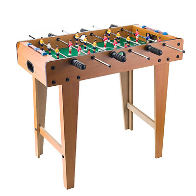 Đồ chơi bàn bi lắc bóng đá cỡ lớn chân cao 69CC bằng gỗ