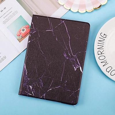 Bao Da Máy Tính Bảng Nắp Lật Siêu Mỏng Họa Tiết Đá Cẩm Thạch Cho Samsung Galaxy Tab S7 T870 Tab S7 Plus T970 Ốp