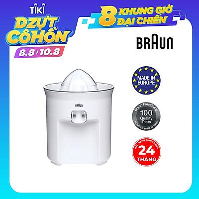 Máy Vắt Cam Braun CJ 3050 - Trắng - Hàng Chính Hãng