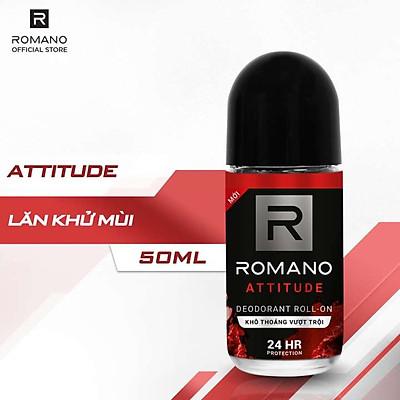 Lăn Khử Mùi Romano Attitude 50ml - 1412046