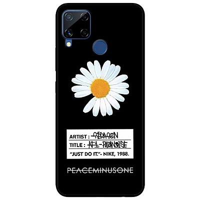Ốp lưng dành cho Realme C11 - C12 - C15 - mẫu Cúc To Có Nhãn