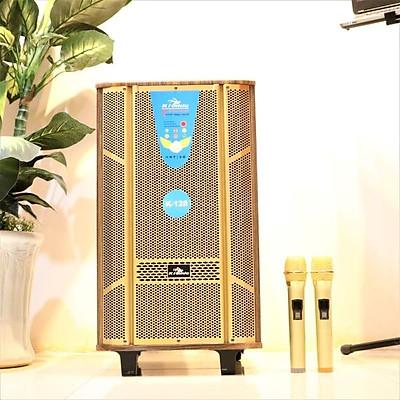 Loa kéo di động 3 tấc Kiomic K128 - Loa kéo hát karaoke - Đầy đủ cổng kết nối -  Tặng kèm 2 micro UHF - Công suất cao lên đến 300W - Đầy đủ núm điều chỉnh bass treble echo - Chất lượng âm thanh cực chuẩn - Hàng nhập khẩu