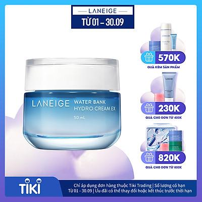 Kem dưỡng ẩm dành cho da dầu và da hỗn hợp Laneige Water Bank Hydro Cream Ex 50ml