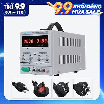 Bộ Nguồn DC Có Thể Điều Chỉnh Màn Hình LED LONG WEI LW-3010KDS (110V/220V) (0-30V) (0-10A)
