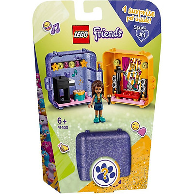 Đồ Chơi Lắp Ghép LEGO Friends Hộp Phụ Kiện Đồ Chơi Của Andrea 41400