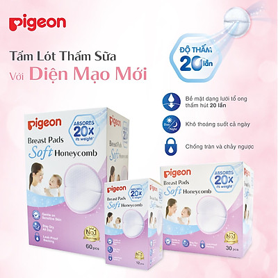 Miếng lót thấm sữa pigeon 12 miếng