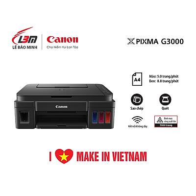 Máy in phun đa năng Canon G3000- Hàng chính hãng