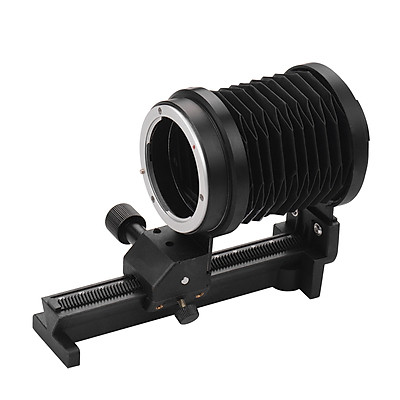 Macro Extension Bellows Compatible with Sony NEX E-Mount Lens Cameras DSLR SLR Cameras Focusing Attachments Accessory - Black