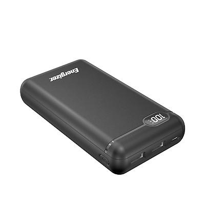Sạc dự phòng Energizer 20,000mAh/3.7V Li-Polymer -tích hợp 2 cổng Output USB-A tiện dụng giúp sạc cùng lúc 2 thiết bị - UE20003 - Hàng chính hãng