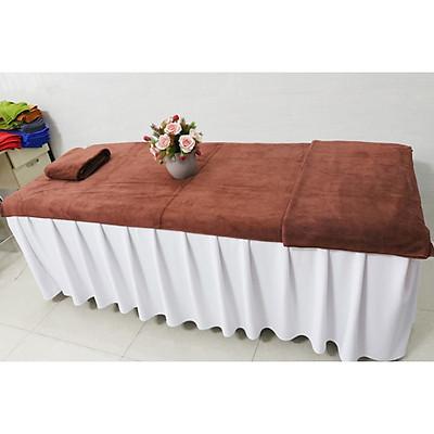 Khăn trải giường spa 90x190 chất liệu Microfiber cao cấp