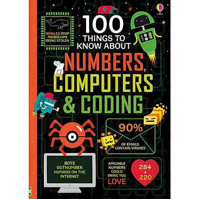 Sách tiếng Anh - 100 Things to Know About Numbers, Computers & Coding