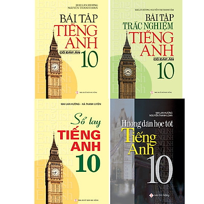 Combo Bài Tập Tiếng Anh 10 Có Đáp Án - Mai Lan Hương