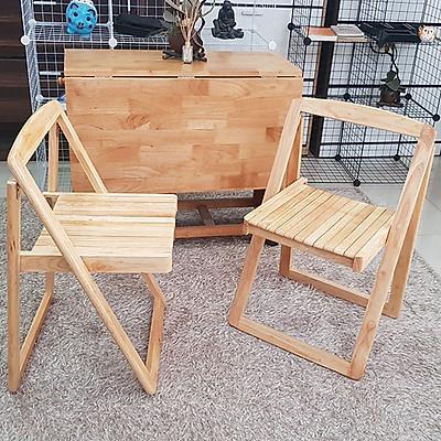 Ghế gỗ gấp gọn thông minh- gỗ tần bì