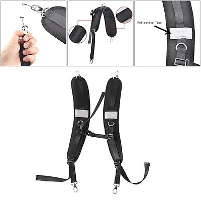 Pack Frame Replacement Backpack Shoulder Straps With Clips Accessories Strap