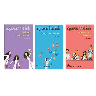 Combo 3 cuốn truyện Nguyễn Nhật Ánh:  Bàn có 5 chỗ ngồi + Bồ câu không đưa thư + Bong bóng lên trời