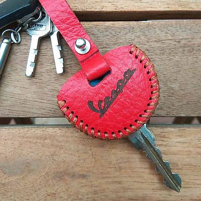Bao da chìa Vespa (Màu đỏ)