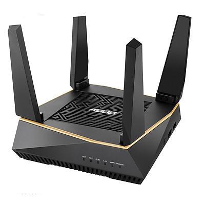 Router Wifi Mesh Asus RT-AX92U 3 Băng Tần AX6100 - Hàng Chính Hãng