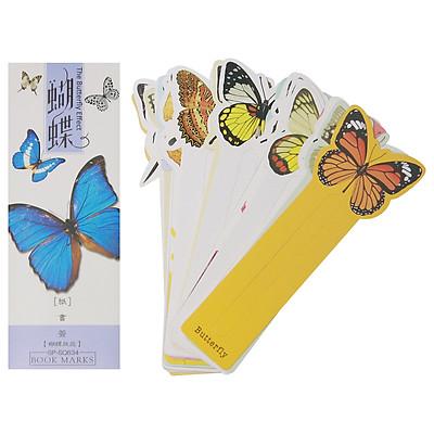 Hộp 32 Bookmark Đánh Dấu Sách Sáng Tạo The Butterfly
