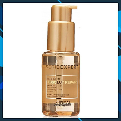 Tinh dầu dưỡng tóc L'OREAL SERIE EXPERT WHEAT OIL ABSOLUT REPAIR Nourishing serum 50ml