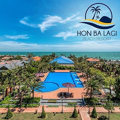 Hòn Bà Lagi Beach Resort 3* - Bữa Sáng, Hồ Bơi Muối Khoáng, Bãi Biển Riêng, Trung Tâm Du Lịch Lagi