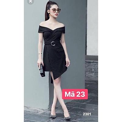 váy kẻ đen kèm đai (ảnh thật video thật) size: S,M,L (023 B80 CH) MH EH