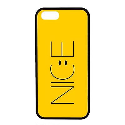 Ốp lưng dành cho Iphone 5 N.I.C.E Vàng - Hàng Chính Hãng
