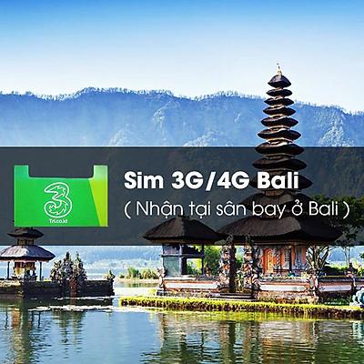 Sim 3G / 4G Bali 5GB (3G) + 5GB (4G) (Nhận Tại Sân Bay Ở Bali)
