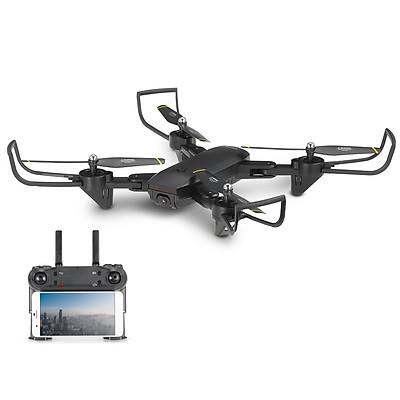 FLYCAM SG700D Camera 4K HD, Hai camera kép, thời gian bay 20p, Wifi 2.4G tích hợp tối đa các thiết bị di động - Hàng chính hãng