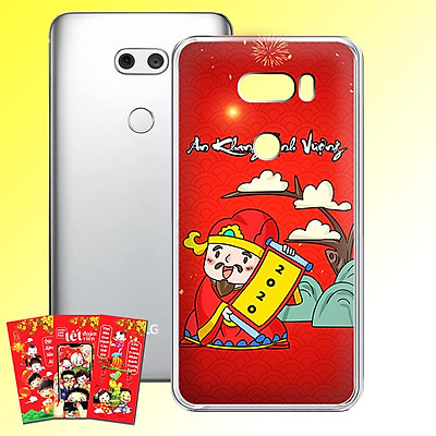 Ốp lưng điện thoại LG V30 - 01253 7955 HPNY2020 09 - Tặng bao lì xì Mừng Xuân Canh Tý - Silicon dẻo - Hàng Chính Hãng