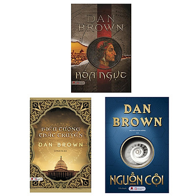 Combo Tuyển Tập Tác giả Dan Brown 1 (Nguồn Cội + Hỏa Ngục + Biểu Tượng Thất Truyền)
