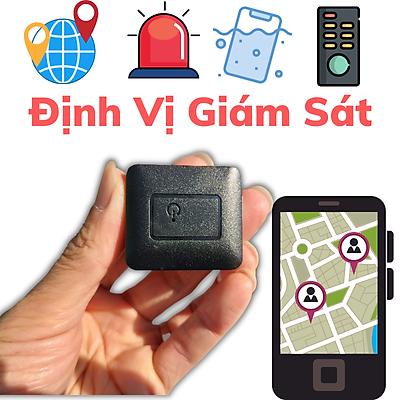 Thiết bị định vị GPS N19 chất lượng cao, Pin trâu 10 ngày hoạt động liên tục, Có kết hợp máy ghi âm